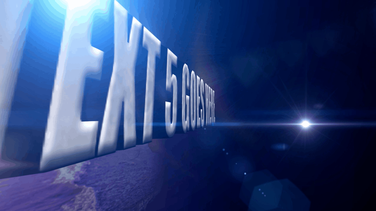 after effects 3d text animation