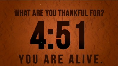 Thankfulness video