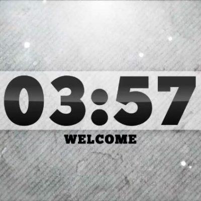 White Stripe Countdown