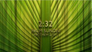 Palm Sunday Countdown Video