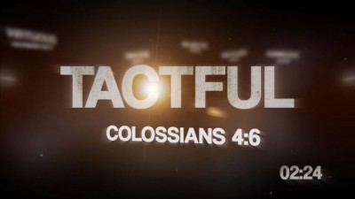 Attributes of God Countdown Video
