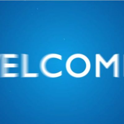 looping welcome video