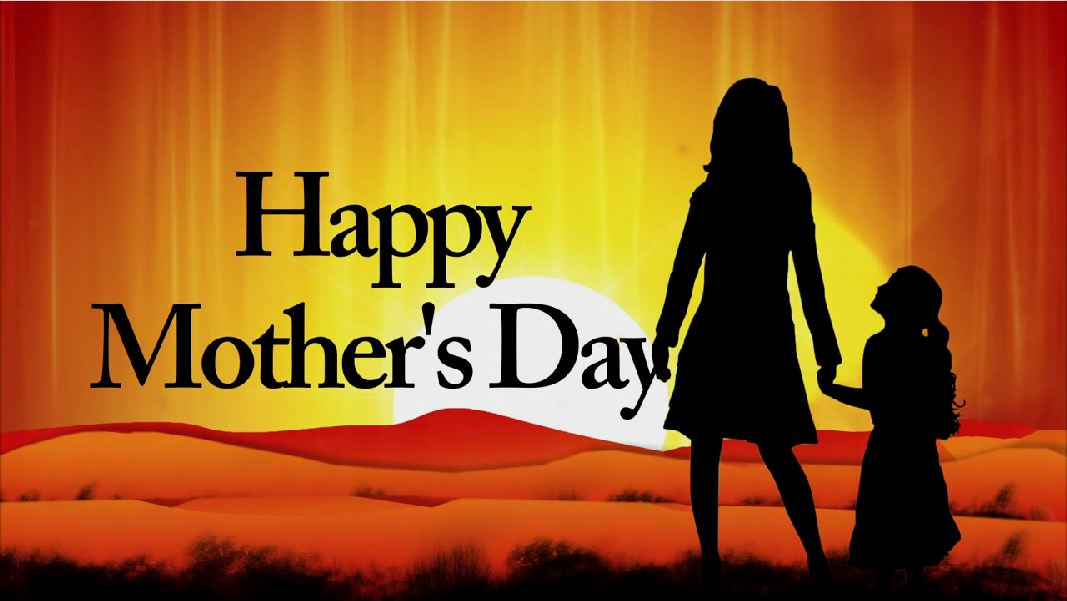 Mothers Day Silhouette Welcome