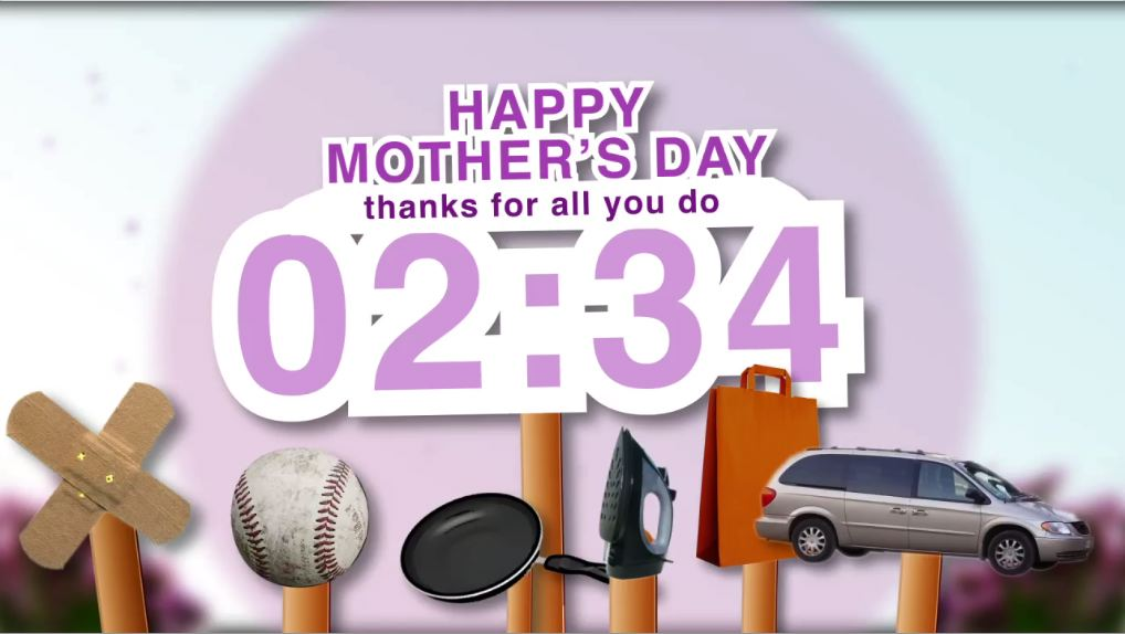 Mothers day fun Countdown Video