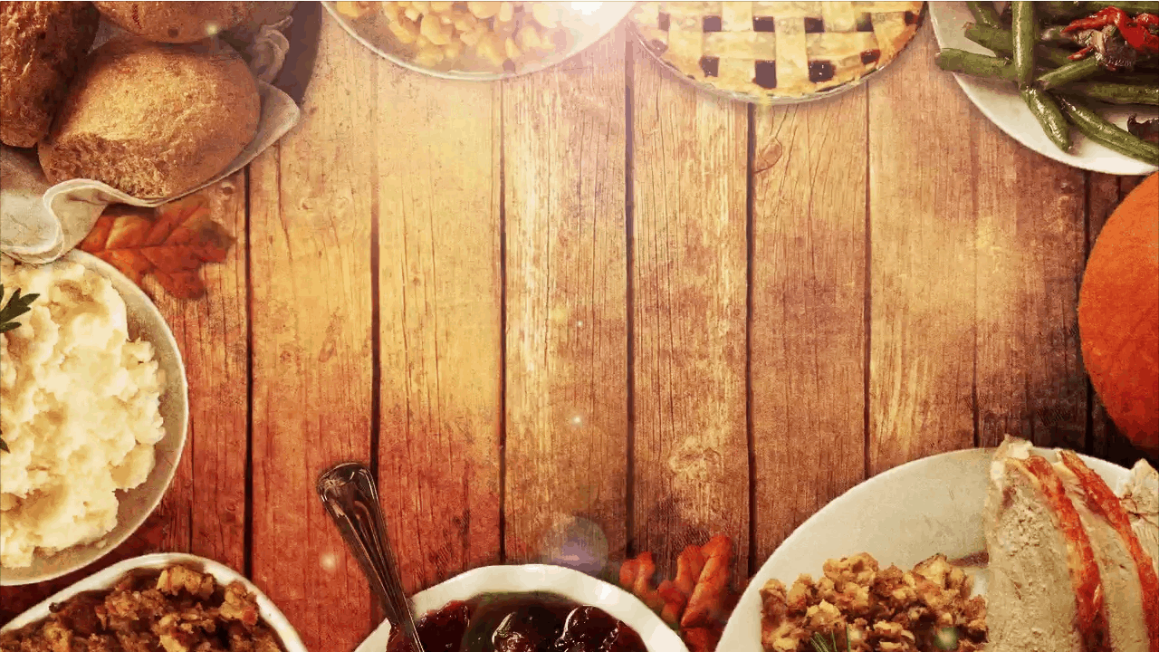 Thanksgiving Table Background