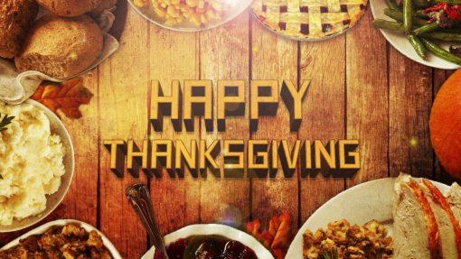 thanksgiving looping video