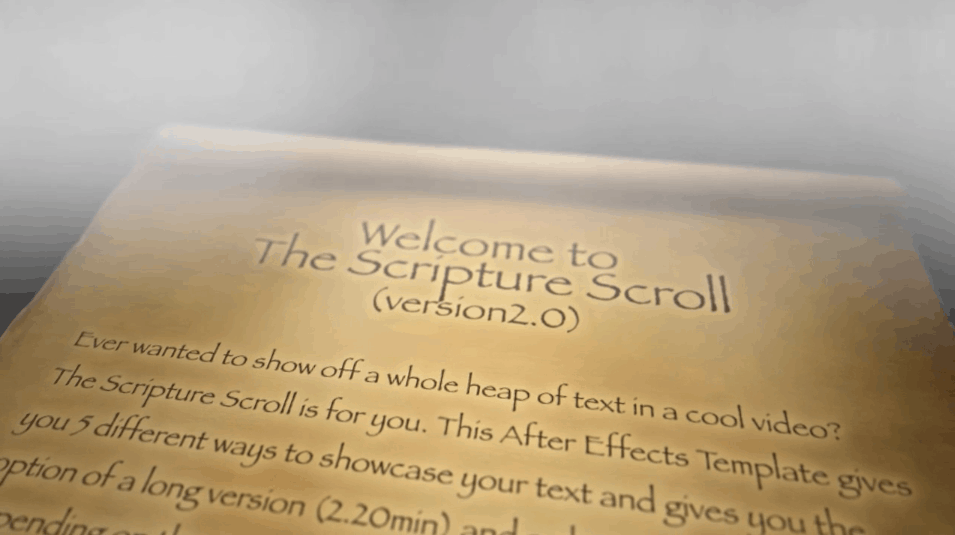 Scripture Scroll Legacy Version