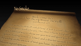 Scripture Scroll No Smoke