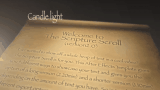Scripture Scroll Candlelight Version