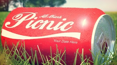 Church Picnic PSD
