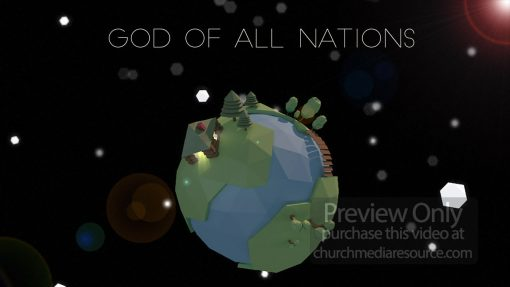 God of all nations wide