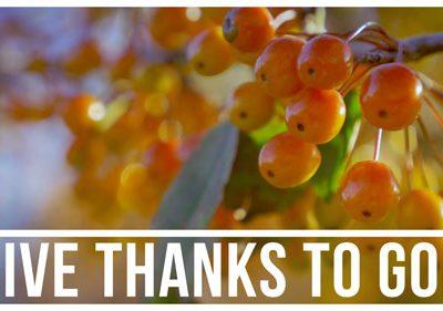 Church Mini Video - Give Thanks To God