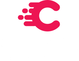 Church Media Resource Logo Stacked White